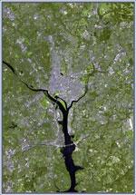 Landsat image of WDC