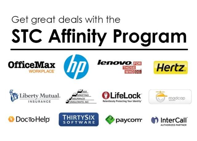 STCaffinity program logos