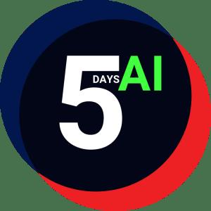 5 days of AI Icon