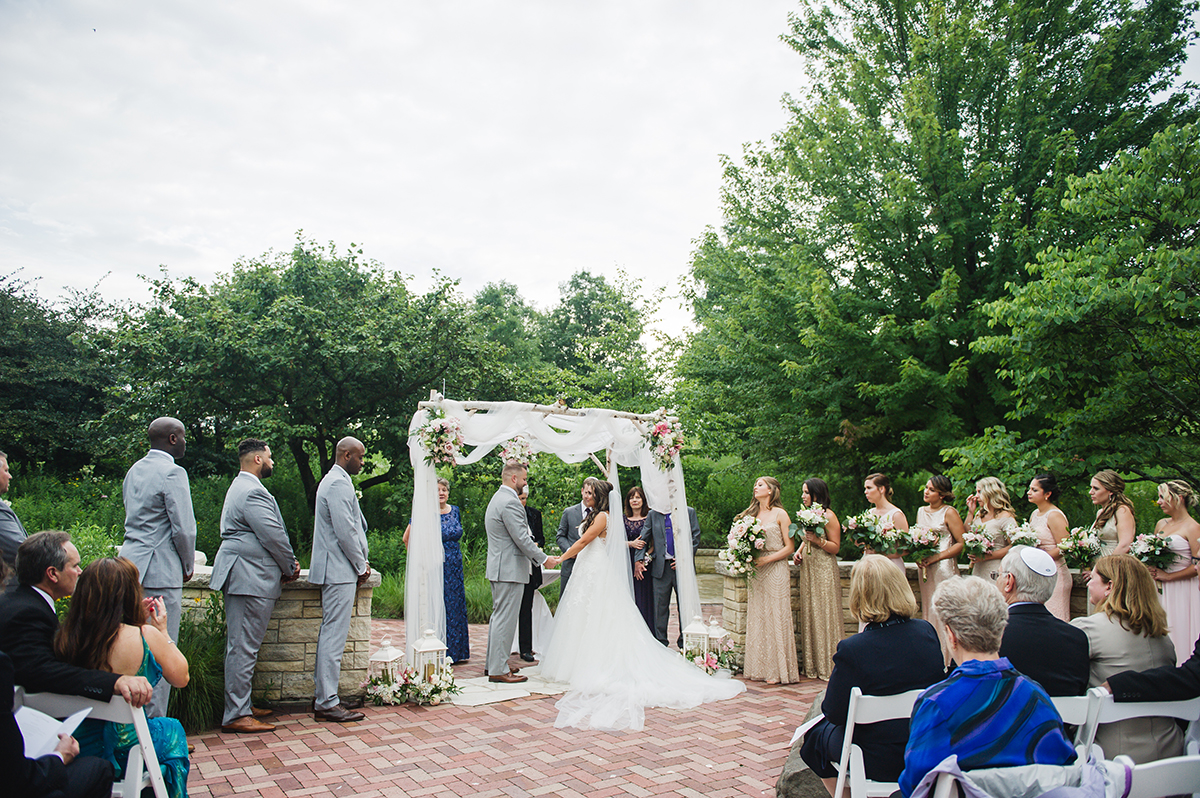 Native Garden Wedding at Independence Grove