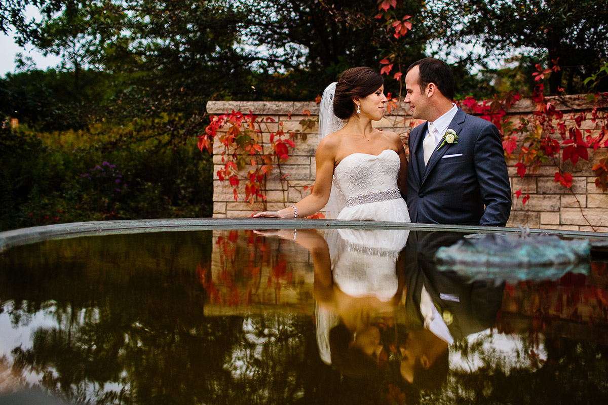Fall Wedding at Events at Independence Grove - Chicago