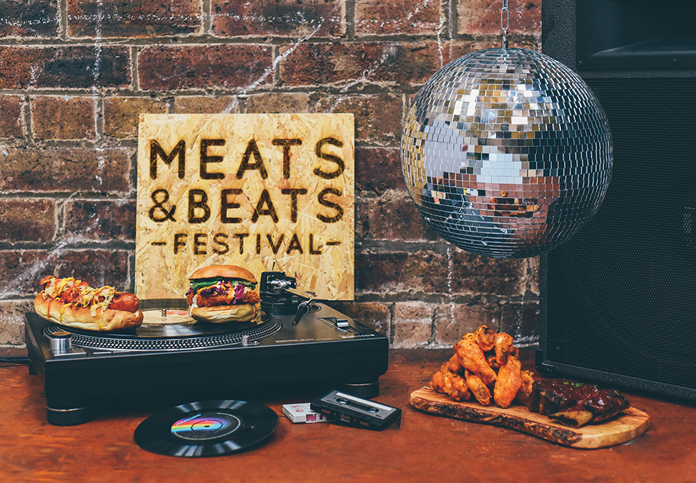 Meats & Beats festival promotional picture