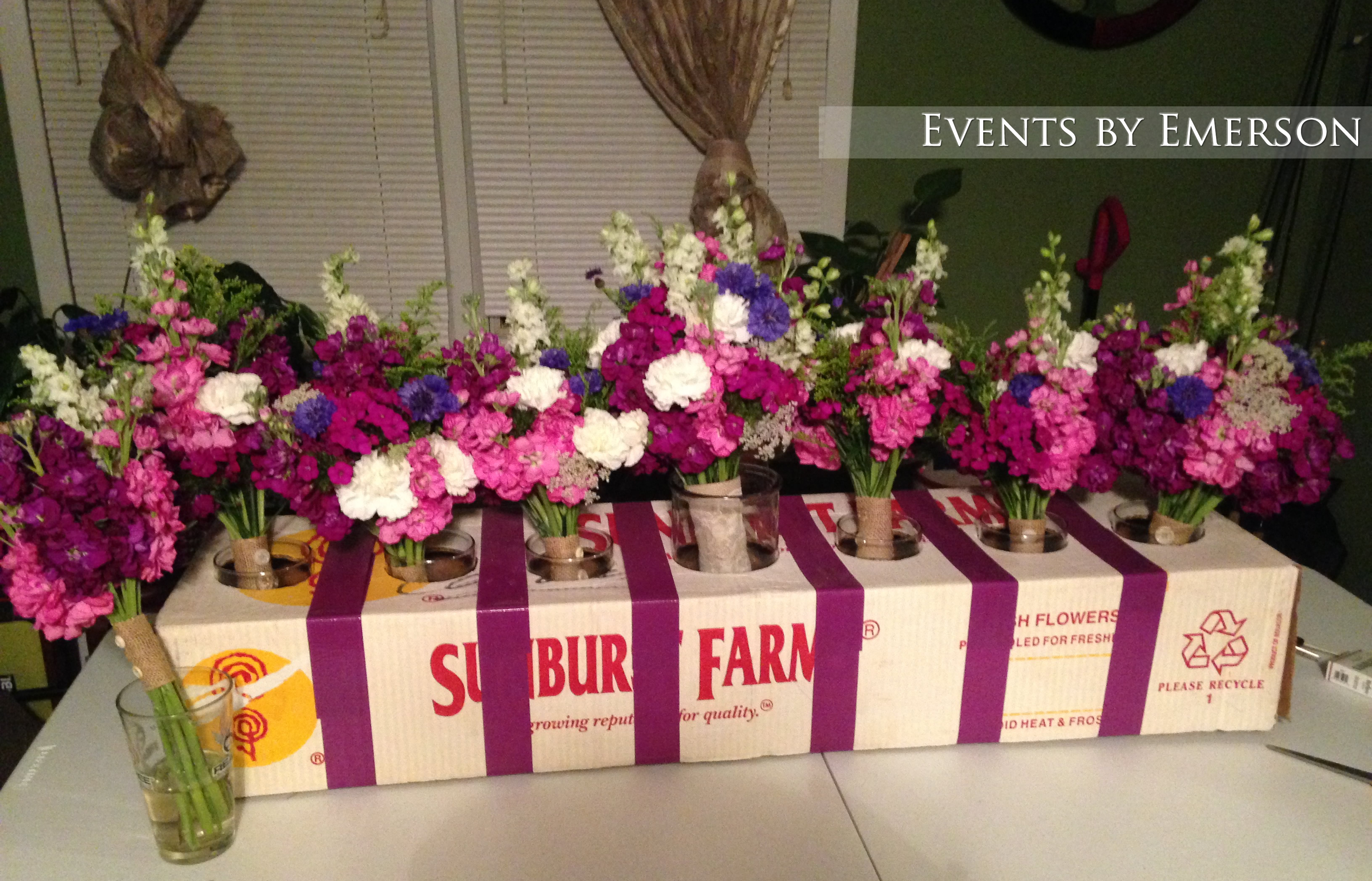 How To Transport Bouquets And Floral Arrangements Events By Emerson