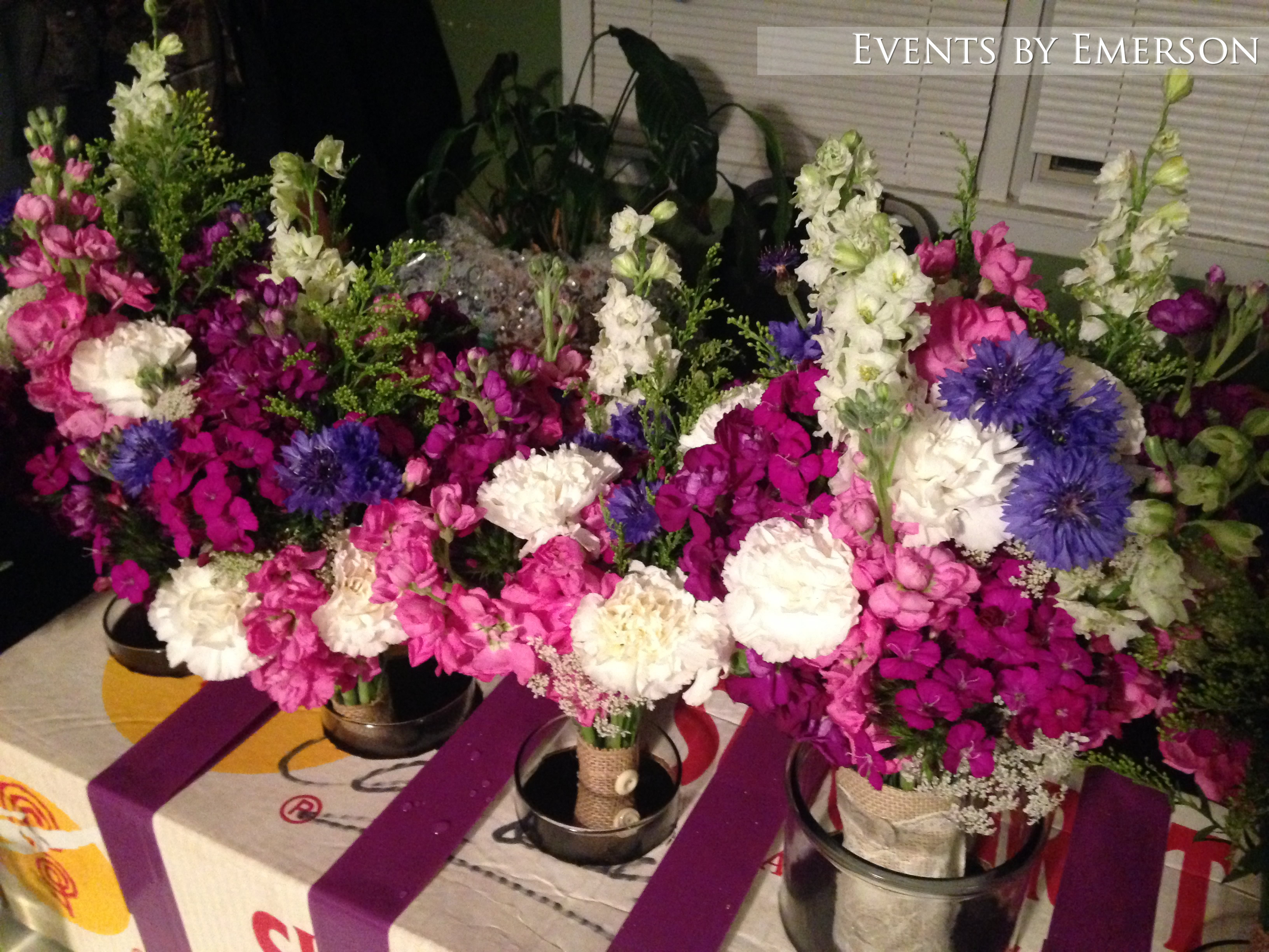 How to transport bouquets and floral arrangements events