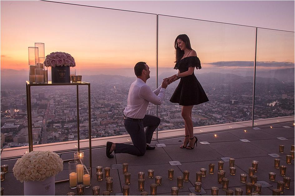 Location for the proposal is important; you should both be comfortable and relaxed.