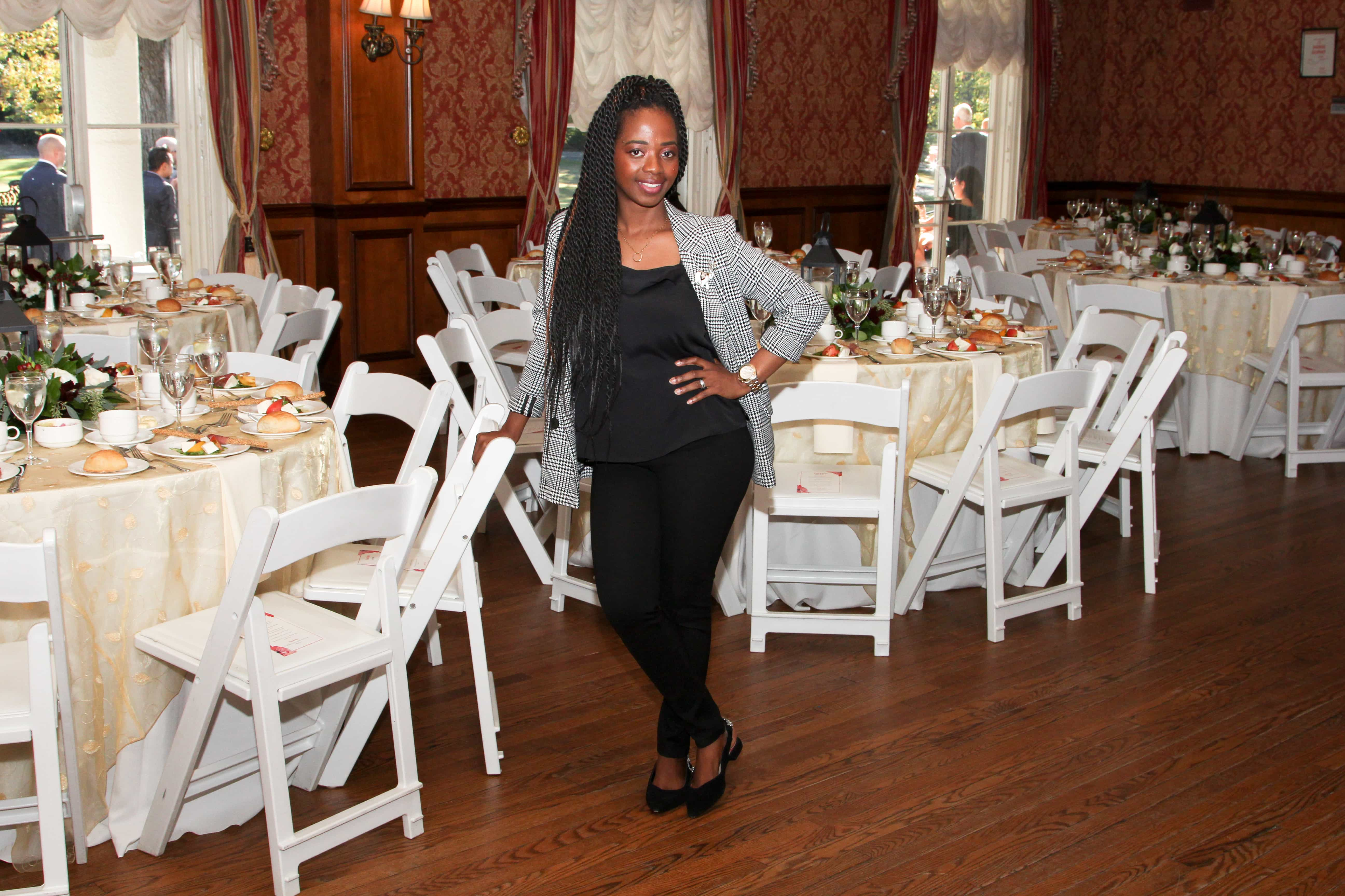Wedding Planner, Yvonne Unubun at Scarsdale Woman's Club