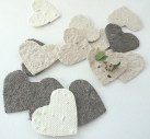 Paper seed hearts let love grow