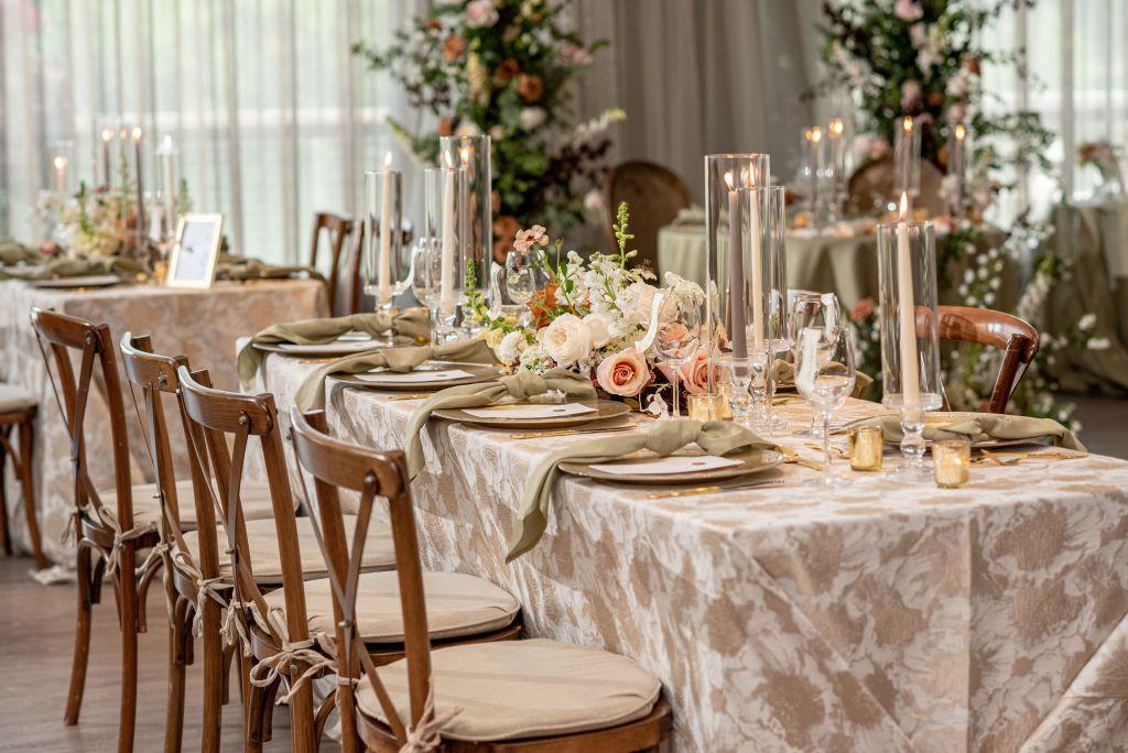 Citron Restaurant Baltimore Wedding Reception