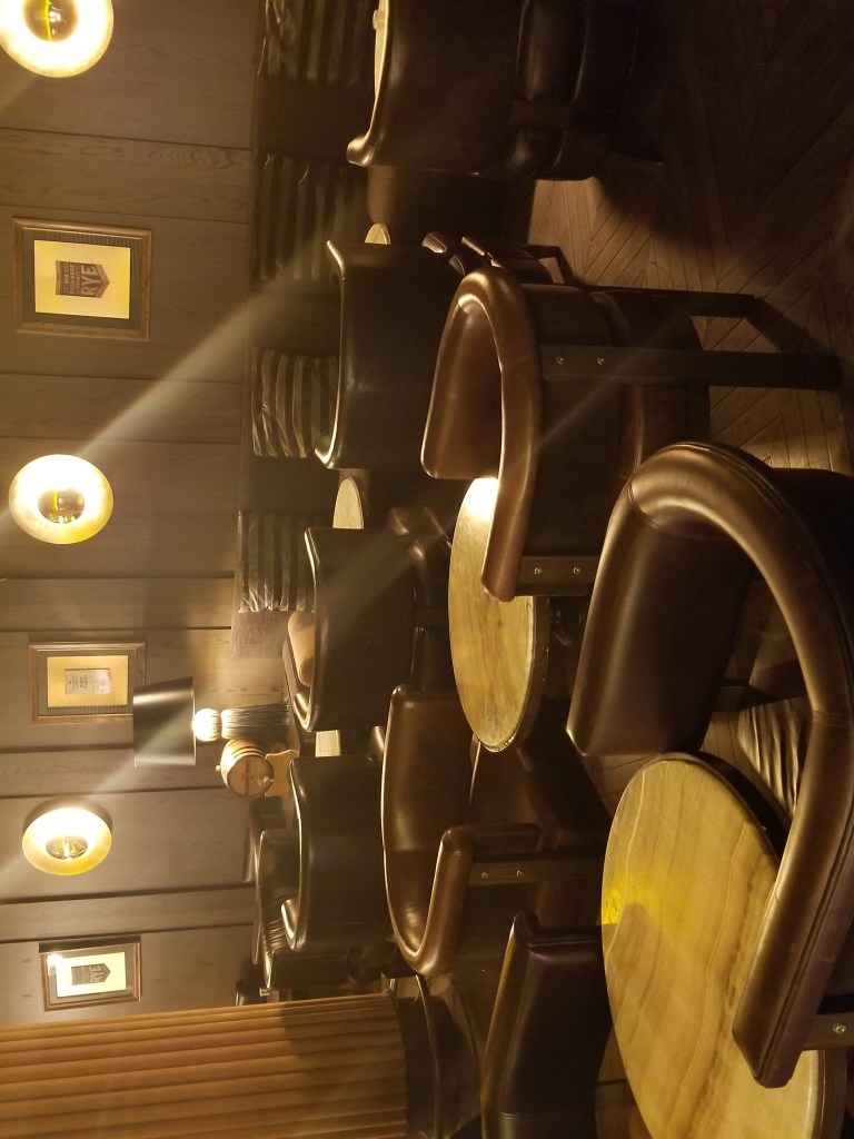 seating at the cannon bar