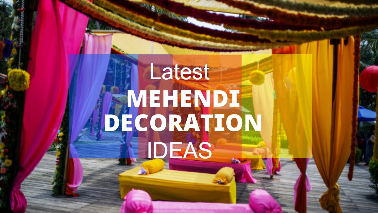 Mehndi Function Decoration Ideas Karachi