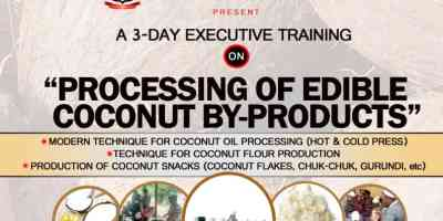 Processing of Edible Coconut Bye-products