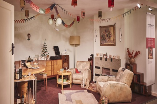 1935 period room at Christmas Past - photography Hannah Taylor - Events for London