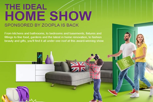 Ideal Home Show 2018 - Events for London