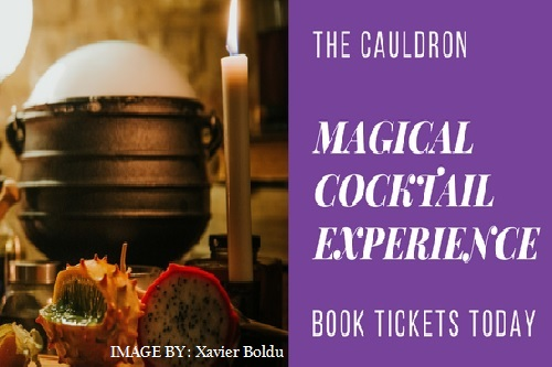 The Cauldron Magical Cocktail Experience - Image by - Xavier Boldu - Events for London