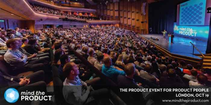 Events in London - Mind the Product Conference
