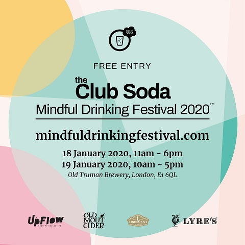 Instagram Mindful Drinking Festival Jan 2020