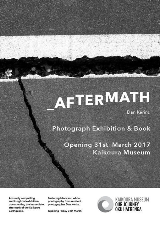 Aftermath Kaikoura Poster