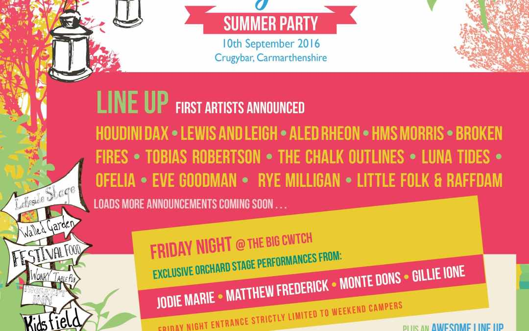 The Big Cwtch Summer Party