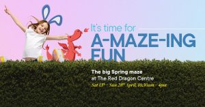 Spring Maze at The Red Dragon Centre