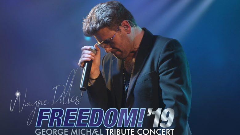 """Freedom ! '19 """"Wayne Dilks as George Michael"""""""