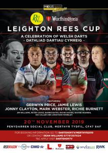 The Leighton Rees Cup - A Celebration of Welsh Darts @ Penydarren Social Club