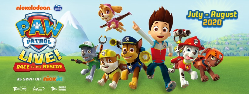 PAW Patrol Live at Motorpoint Arena in Cardiff