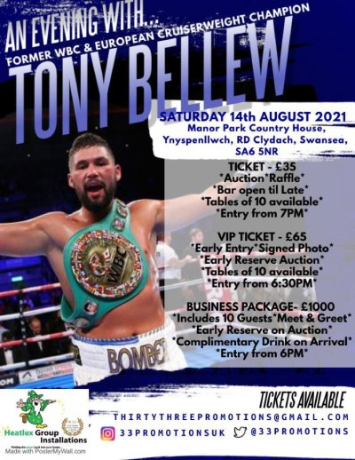 an evening with tony bellew