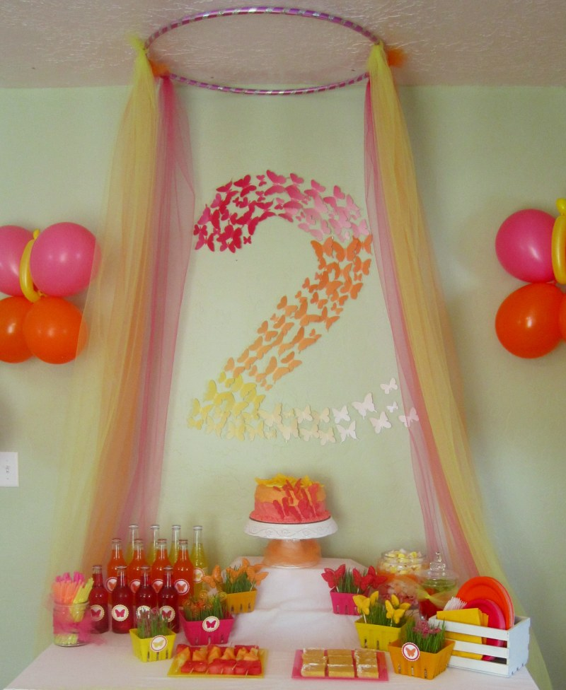 Erfly Themed Birthday Party Decorations Events To Celebrate