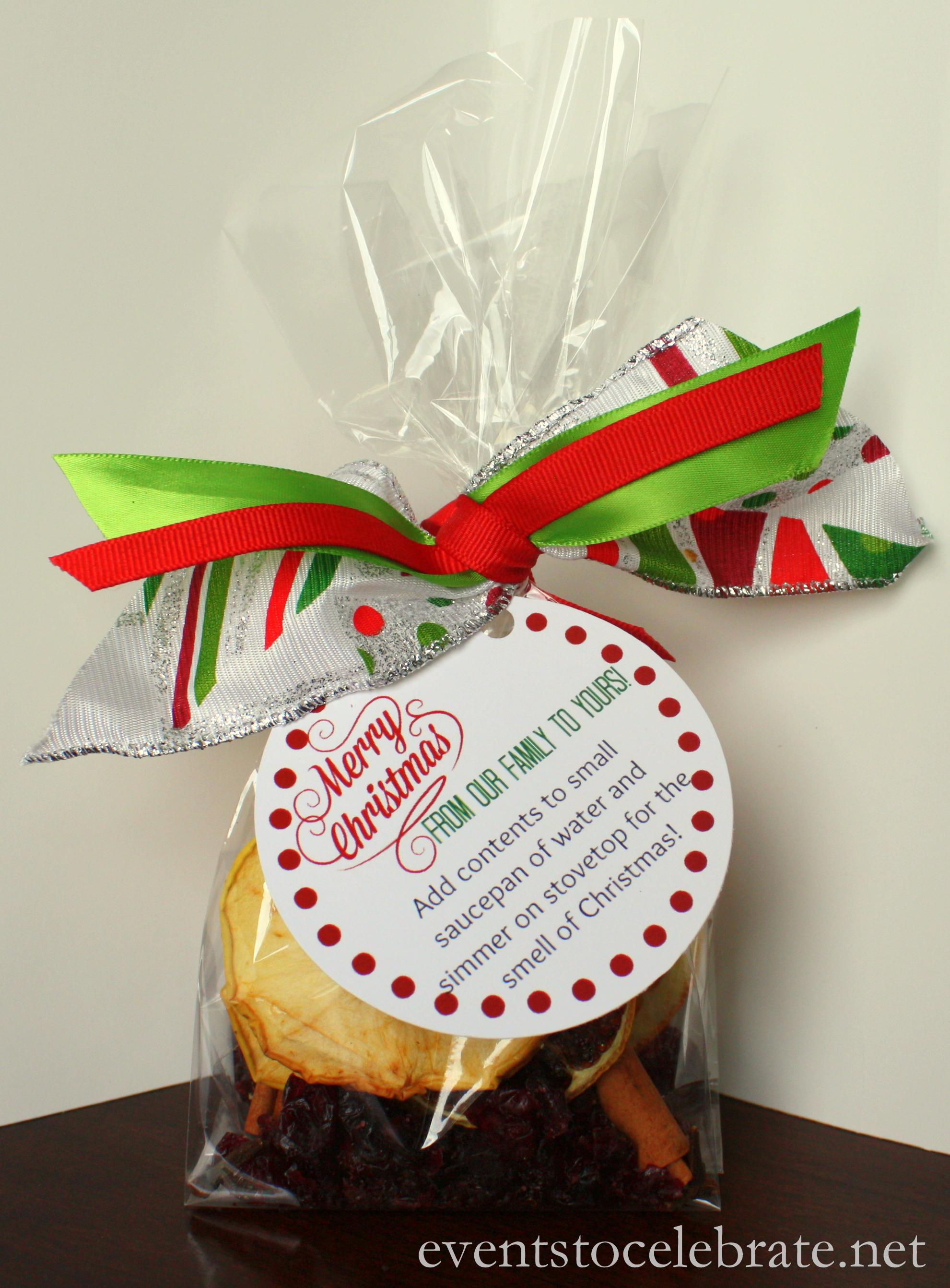 Homemade Christmas Potpourri Recipe Amp Free Printable Gift