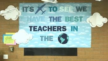 Teacher Appreciation Week Travel Theme