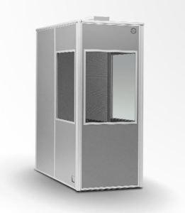 Audipack 1-person Interpretation Booth