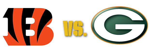Image result for Cincinnati Bengals vs. Green Bay Packers