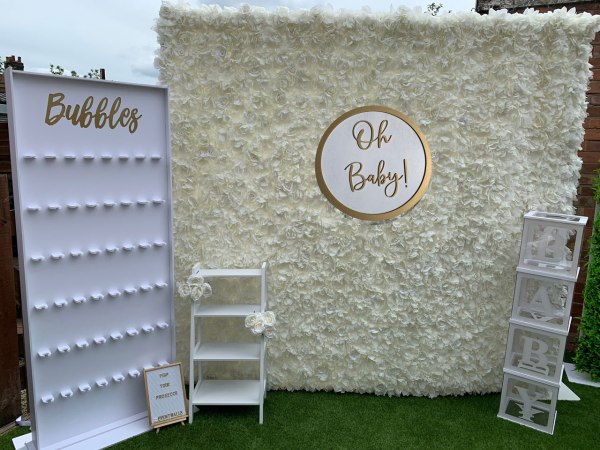 Oh Baby! Baby Shower / Gender Reveal Party Package Event Walls