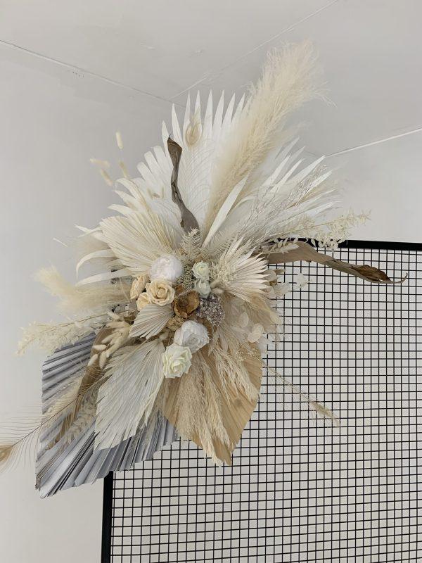 Neutral Dried Flower Piece