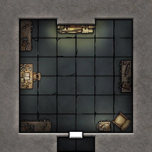 Free Candlekeep Mysteries Map