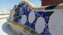 Verdens længste bænk i Parc Guell