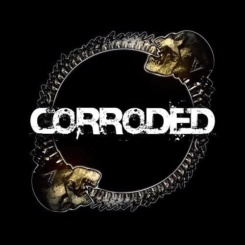 Corroded logo