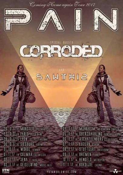Corroded tour date pic