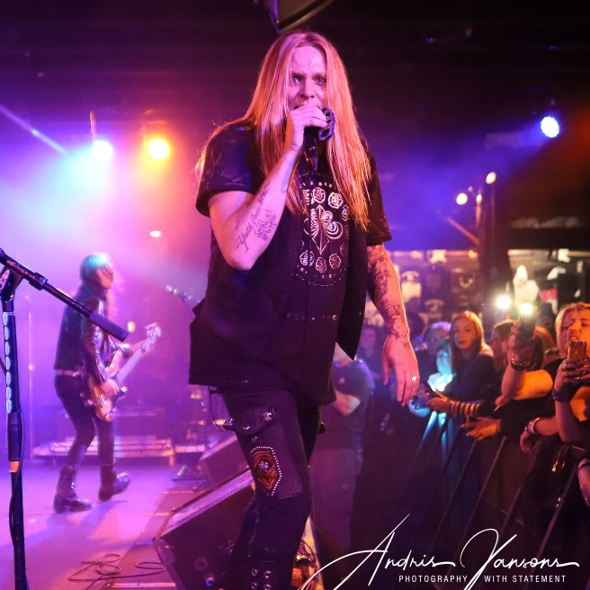 October 18, 2018. The Stone Pony at Asbury Park, NJ. Rock artist Sebastian Bach and his band perform during concert. All rights reserved Andris Jansons / JM Pressphoto