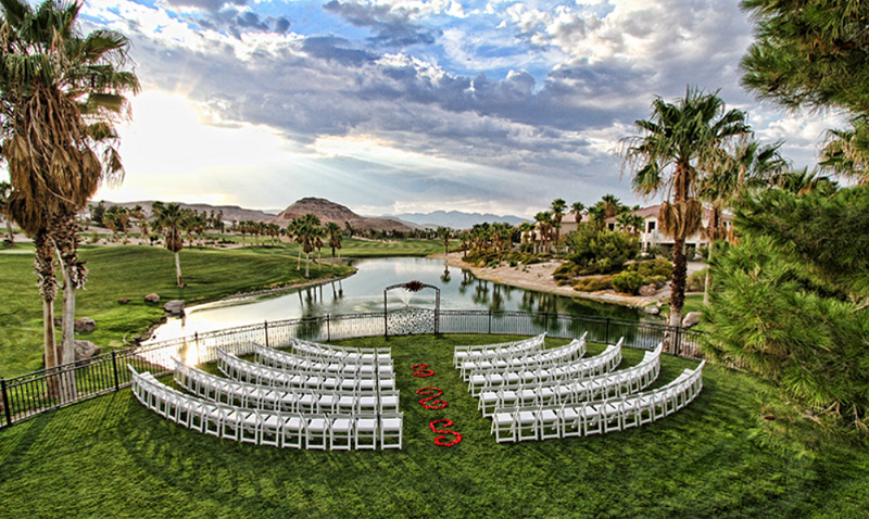 Outdoor Reception Venues Las Vegas