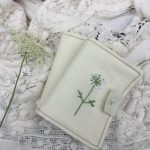 Gathering, Dyeing, Making:: Queen Anne's Lace and Needle Books
