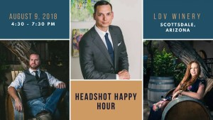 Headshot Happy Hour by Everardo Keeme Photography at LDV Winery in Scottsdale, AZ
