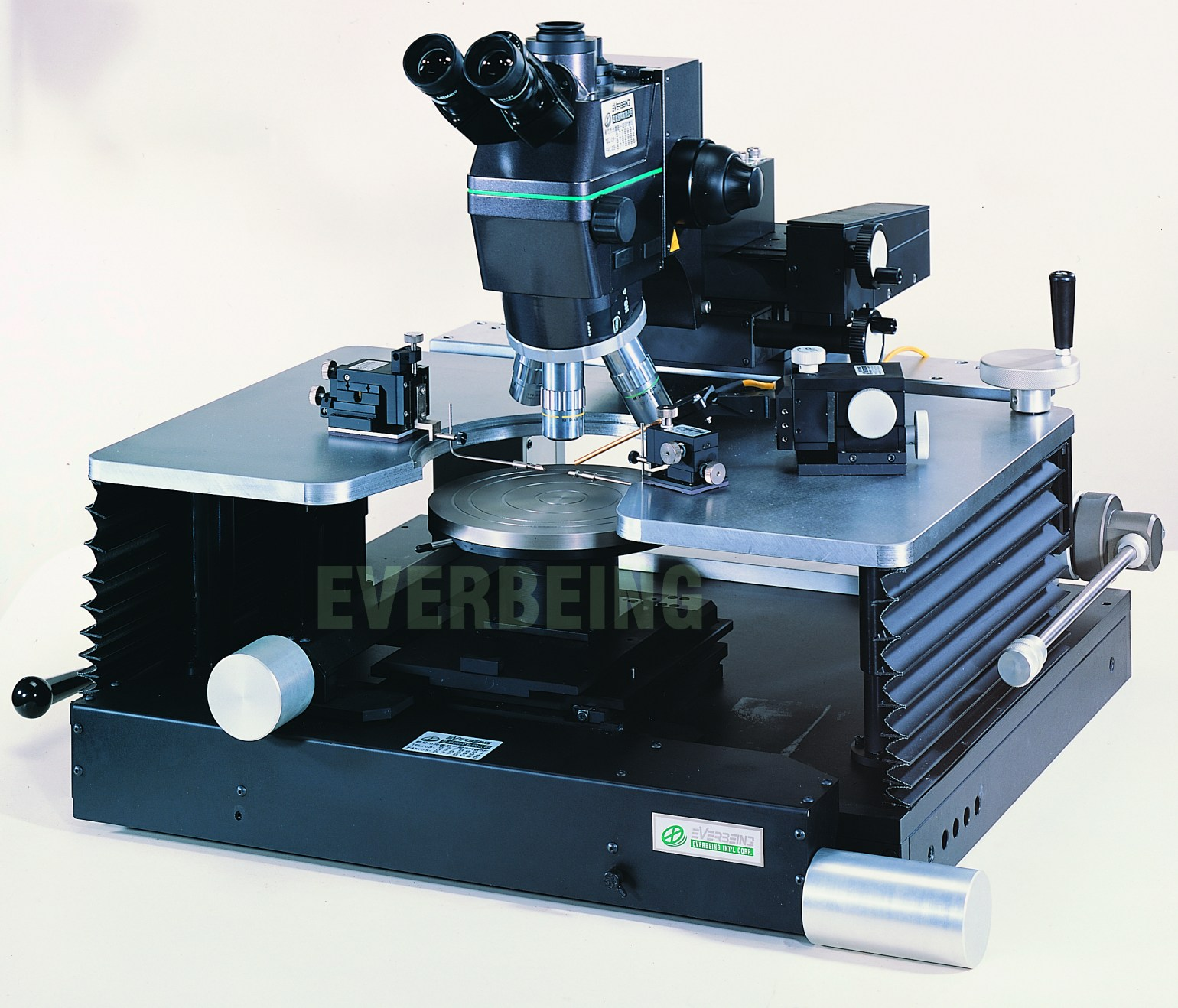 manual probe station for dc and rf with platen moving mechanism