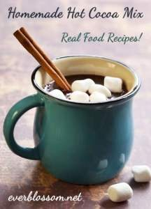 One of the cool things about homemade hot cocoa mix is that you can definitely add a bit of flair and style to your hot cocoa. Why not tailor your hot cocoa mix to cater to the personality being served?