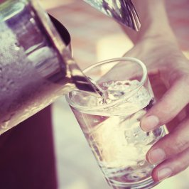 Try these tips to drink more water!