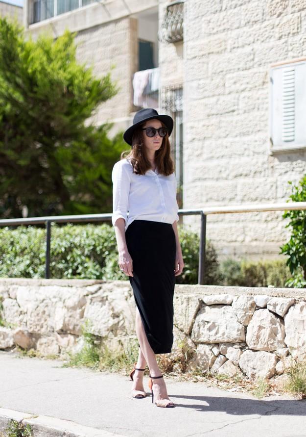 Black slit skirt_00002