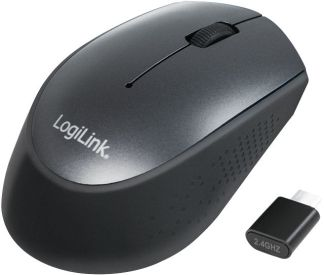 LogiLink Optic Mouse 3D USB-C 3 Button ID0160