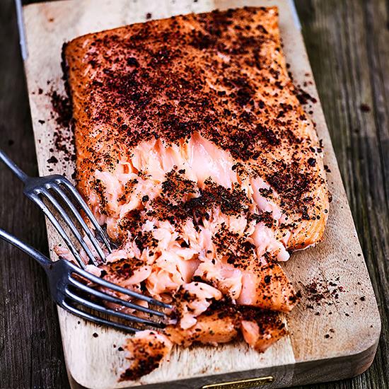 香燻鮭魚排食譜
