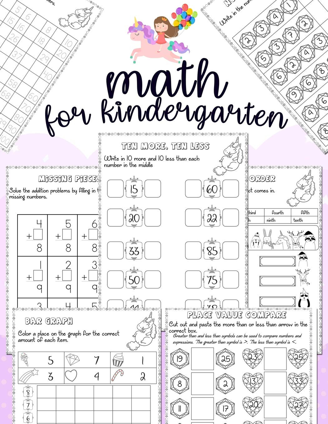 Kindergarten Place Value Worksheet