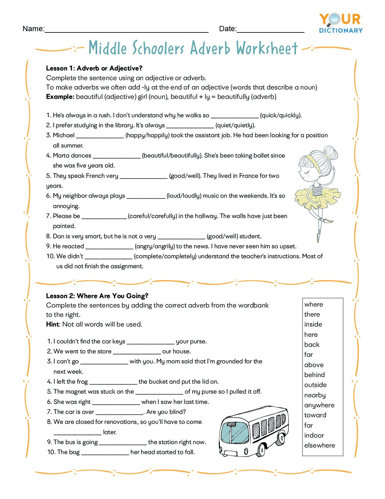 High School English Grammar Worksheets Worksheet For
